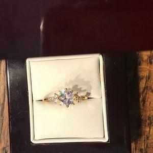 14kp engagement ring
